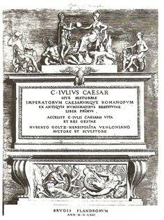 1562 Hubert Goltzius, Sive Caesar