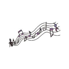 Music Notes ❤ liked on Polyvore