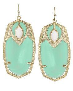 Mint  Inspiration Beautiful earrings  Want want want :)