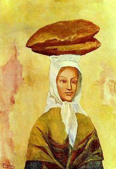 La porteuse de pains 1906. Pablo Picasso (1881-1973)