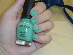 Because I Love Sephora, NOTD Sephora by OPI Read My Palm....I just got a pedi with this color. Luv it....always one of my favs!!!
