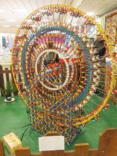 County Fair Exhibit, Leggo Ferris Wheel