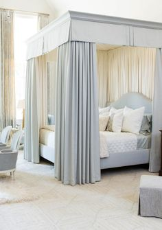 A Swoon-worthy Master Bedroom by Phoebe Howard for the Southeastern Designer Showhouse, via @sarahsarna.