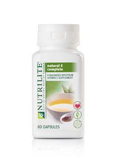 NUTRILITE® Natural E Complete - 60 Count This made my hair grow a full inch in two weeks. Love! <3 #FF #vitamins #vitaminD #followback