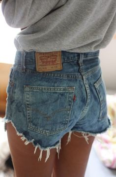 Best Homemade Jean Shorts