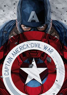 """The Poster Posse Asks, """"Whose Side Are You On?"""" In Pt.1 Of Our Tribute To Marvel's """"Captain America: Civil War"""""""