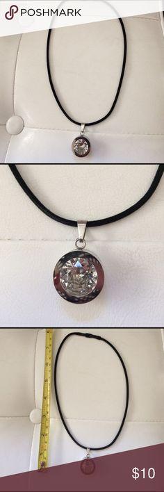 Crystal pendant necklace. Crystal pendant necklace Jewelry Necklaces