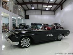 DANIEL SCHMITT & CO CLASSIC CAR GALLERY PRESENTS: 1963 FORD THUNDERBIRD CONVERTIBLE