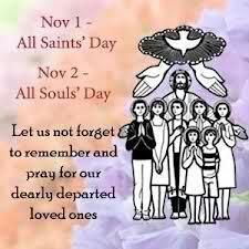 November's Time of Remembrance All Saints Day includes