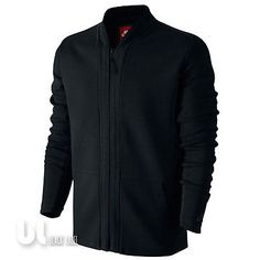 7e6d4624a300 Nike Tech Fleece Herren Cardigan Herren Tech Fleece Sweatjacke Style Jacke  Black Fleece Jacke, Nike