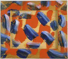 HOWARD HODGKIN Hello, 2004-2008 Oil on wood 11-3/8 x 13-3/8 inches (28.9 x 34 cm)