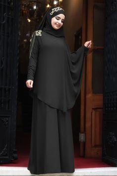 Modest Fashion Hijab, Niqab Fashion, Street Hijab Fashion, Fashion Dresses, Muslim Dress, Hijab Dress, Islamic Fashion, Muslim Fashion, Mode Abaya