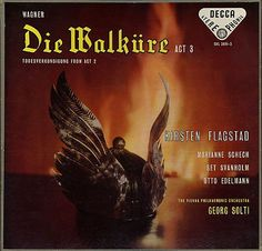 "Kirsten Flagstad is magnificent in this recording of Wagner's ""Die Walkure."" Georg Solti conducts the Vienna State Philharmonic Orchestra."