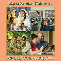 Wednesday, December 14 Keep on the watch.—Matt. 25:13.