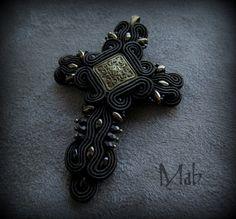 wisior - krzyż, Mab Magdalena Bielska