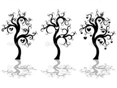 Tree Silhouette | Trees silhouette — Stock Vector © Evgenia Malakhova #4745448