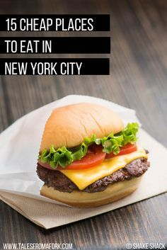 After living in New York for 5 years, I've nailed down my favorite cheap places to eat. Click through to find out where you should eat for around $10 or less in NYC!