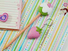 Lápis e chaveiro fofinho! | Flickr - Photo Sharing!