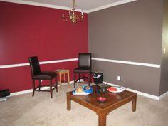 Open Floor Plan with Color