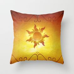 ...and at last i see the light! Throw Pillow by Emiliano Morciano (Ateyo) - $20.00