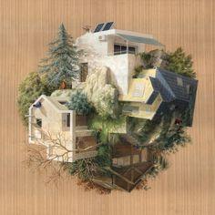 Les nouvelles Peintures architecturales de Cinta Vidal (2)