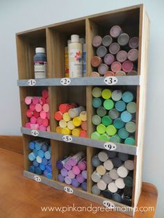 Target Cabinet to hold acrylic craft paint - NEW Art Studio Tour!