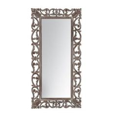 This Full Length Mirror is handcrafted by experts having generations of experience, to engineer a linear finish to your wall with its perfect rectangular frame. Bordered with a hand carved, traditional Indian winding vine pattern, in a classic color Bohemian Chic Decor, Mdf Frame, Mirror Shapes, Wall Mounted Mirror, Wall Mirrors, Window Wall, Scroll Pattern, Scroll Design, Frames On Wall
