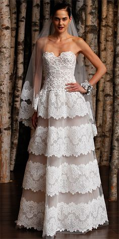 Naeem Khan Spring 2015 Bridal Collection.