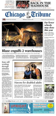 Jan. 23, 2013: Major warehouse blaze in Bridgeport is Chicago's biggest fire response in 7 years. Far fewer schools may close this year, and a look inside the egg roll.
