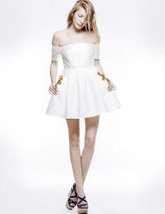 STRAPLESS BUSTIER DRESS, Colección primavera-verano 15