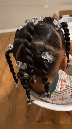 Little Girls Natural Hairstyles, Toddler Braided Hairstyles, Little Girl Braid Hairstyles, Kids Curly Hairstyles, Little Girl Braids, Protective Hairstyles, Lil Girl Braid Styles, Black Toddler Girl Hairstyles, Mixed Kids Hairstyles