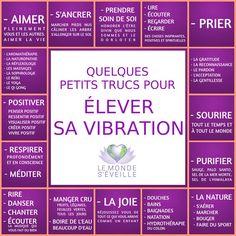 Comment élever sa vibration | ÉLEVER SA VIBRATION Le Monde s'Eveille Grâce à Nous Tous ♥