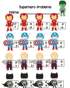 End of the Year Superhero Themed Unit for Primary Students- This is a great unit to celebrate a job well done. Your students will love the integrated theme through out each subject. Perfect for the last week of school. #endofyearunit