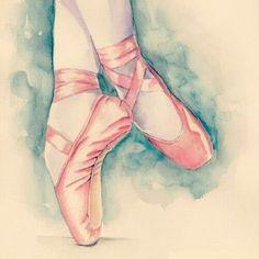 Imagen de ballet, dance, and pink