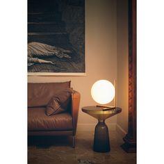 IC T2 table lamp, chrome - Flos