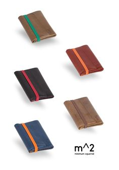 From IAMTHELAB.com What's New: Handmade Leather Wallets from Minimum squared