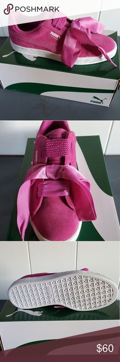 22a0120c49582b NEW Pink Puma suede sneakers NEW magenta Puma suede sneakers One of the  most popular PUMA