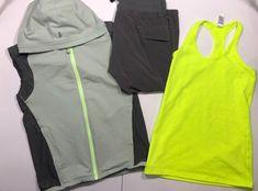3 Piece Ivivva Lot Size 14 Vest Tank Crops  | eBay Lulu Love, 3 Piece, Nike Jacket, Size 14, Athletic Tank Tops, Kids Outfits, Vest, Jackets, Clothes
