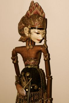 Puppet Clay Dolls, Art Dolls, Wooden Puppet, Marionette Puppet, Shadow Silhouette, Javanese, Venetian Masks, Shadow Puppets, Expressive Art