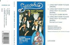 SMOKIE - Roy Chubby Brown - Living Door To Alice - CAWAG 245 - Cassette - 1995 by SkandiRetroMusic on Etsy