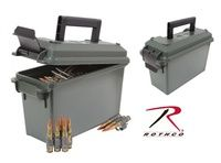 30 Cal Ammo Can - Plastic - Olive Drab