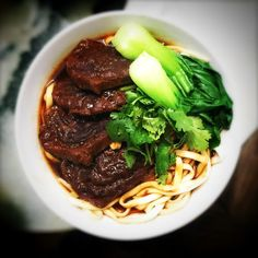 Taiwan Braised Beef Noodles 台灣紅燒牛肉麵 | Chinese Recipes at TheHongKongCookery.com