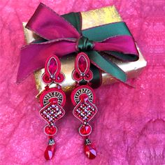 Treat yourself! Tempting Valentine's Day 25% off sale❣️ #doricsengeri #valentinesday #valentinesgifts #redearrings #designerjewelry #couturejewelry #luxuryshopping