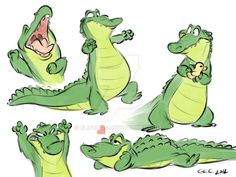 more gators by Eligecos.deviantart.com on @DeviantArt