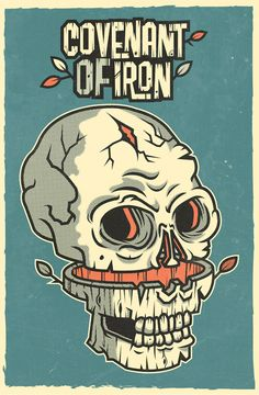 ILUSTRACIÓN http://www.behance.net/gallery/COVENANT-OF-IRON/10256693