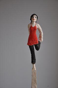 Modern Sculpture, Wood Sculpture, Wood Carving, Erwin Wurm, Creations, Artisan, Woodworking, Statue, Caricatures