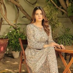 Aiman Minal Closet latest summer collection Day Dream Features Minal Khan Ordinary Girls, The Ordinary, Pakistani Actress, Late Summer, Pakistani Dresses, Summer Collection, Fashion Brand, Wrap Dress, Fashion Dresses