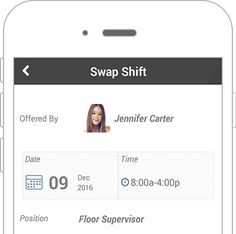 Create, distribute and communicate your next work schedule in ...