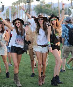 Love their style - Miranda Kerr and Alessandra Coachella 2013