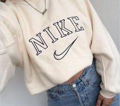 Women Fashion NIKE Round Neck Top Sweater Pullover Sweatshirt